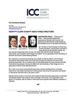 Identity Clark County Adds Three Directors