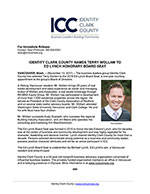 Identity Clark County Names Terry Wollam to Ed Lynch Honorary Board Seat