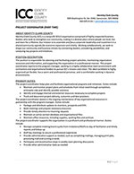 Job Opening: Project Coordinator (Part-time)
